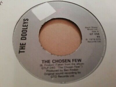 The Dooleys * The Chosen Few * 7   Single Excellent 1979 • 2.99£