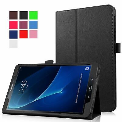 Leather Tablet Stand Flip Cover Case Samsung Galaxy Tab A 10.5  / A 7  / A6 10.1 • 5.45£