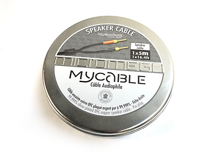 Micromega MyCABLE Silver Plated Multi Connector Loudspeaker Cable • 129£