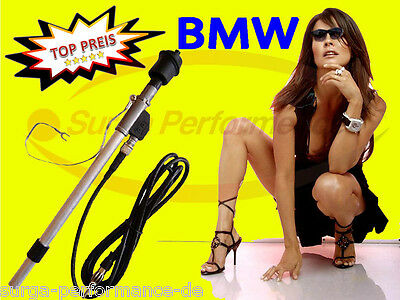 $10.47 • Buy BMW 3 E30 W Antenna Fender Extendable Telescopic Antenna With Accessories New