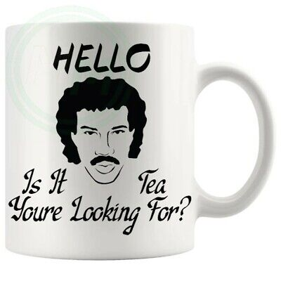 £8.95 • Buy Hello Is It Tea Youre Looking For Novelty Mug For Him Her Friends Colleagues