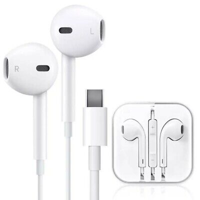 Type C Wired Earphones For Android Desktop Laptop Noise Cancelling Earbuds • 6.29£