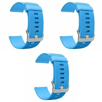 $ CDN11.29 • Buy 3-Pack For Fitbit Blaze Watch Replacement Band Large Silicone Sport Strap New