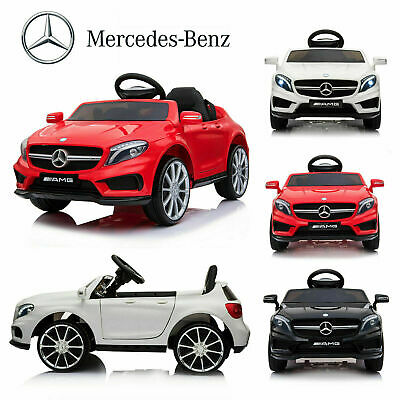 Pre-Order 12V Kids Ride On Car Electric Licensed MERCEDES BENZ AMG GLA45  • 99.99£