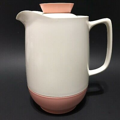 $11 • Buy Vintage Vacron Bopp Decker Plastic Thermal Vacuum Pitcher Pink Speckled White