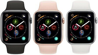 $ CDN292.23 • Buy Apple Watch Series 4 40mm 44mm GPS + Cellular 4G LTE - Gold Space Gray Silver