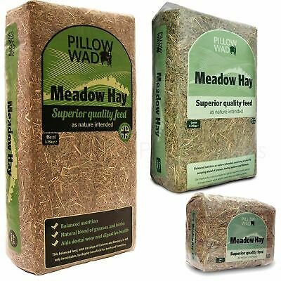 £5.99 • Buy Pillow Wad Meadow Hay Quality Dried Grass Small Animal Pet Natural Bedding Feed