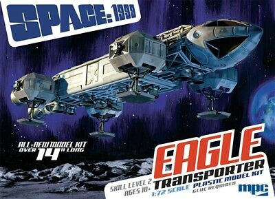 $47.99 • Buy MPC Space 1999: 14  Eagle Transporter 1/72 Model Kit MPC913-NEW