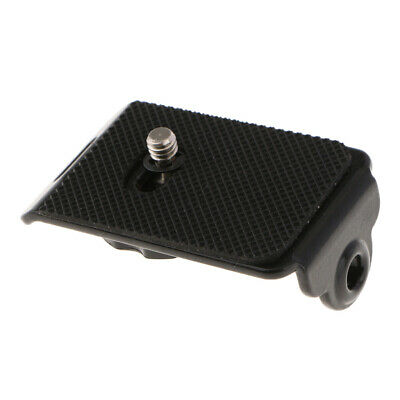 Quick Release Mounting Plate With 1/4  Screw For Camera  Neck Strap • 3.16£