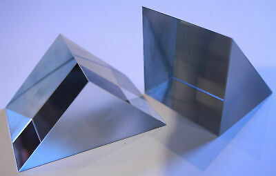 $21.31 • Buy Right Angle Glass Prisms With Aluminium Coated Hypotenuse Face.  PCH