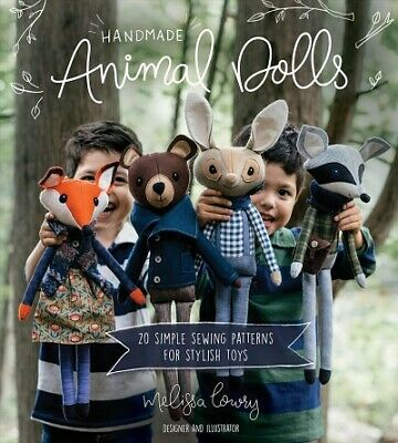 £11.53 • Buy Handmade Animal Dolls : 20 Simple Sewing Patterns For Stylish Toys, Paperback...