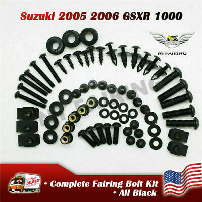 $35.99 • Buy NT Fairing Bolt Kit Screw Fastener Hardware For SUZUKI 2005 2006 GSXR 1000 C05