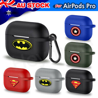 AU8.50 • Buy AirPods Pro Cases - Pro Silicon Protective Cover With Figures
