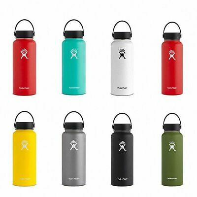 Hydro Flask Stainless Steel Water Bottle Insulated Wide Mouth Cap Straw Lid  • 20$
