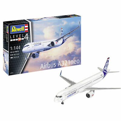 REVELL Airbus A321 Neo 1:144 Aircraft Model Kit 04952 • 20.95£
