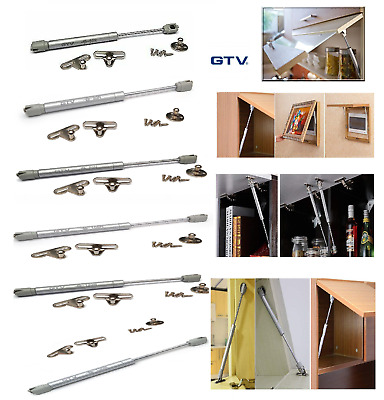 £3.95 • Buy Gas Spring Strut Stay Cabinet Door Hinge Soft Open Soft Close Pneumatic Support