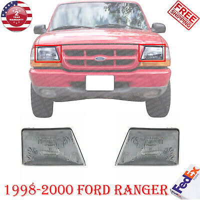 $50.34 • Buy Halogen Headlamps Left & Right Hand Side Pair Assembly For 1998-2000 Ford Ranger