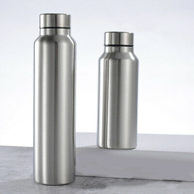 AU16.54 • Buy Portable Large Capacity Single Wall Large Capacity Water Bottle Outdoor Supply