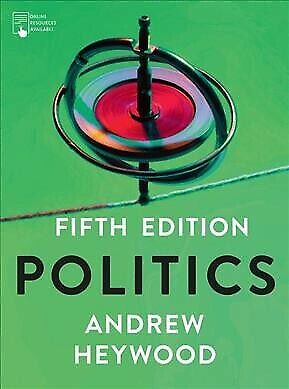 Politics, Paperback By Heywood, Andrew, Brand New, Free P&P In The UK • 30£