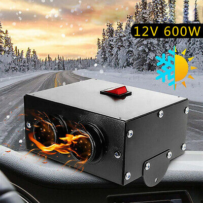 $ CDN35.16 • Buy Car Auto Portable Electric Heater Warmer Cooling Fan Defroster Demister 12V 600W