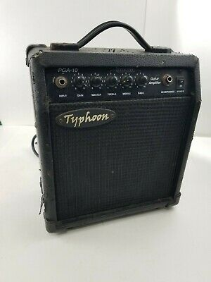 $ CDN24.95 • Buy Used Typhoon PGA-10 Guitar Amplifier