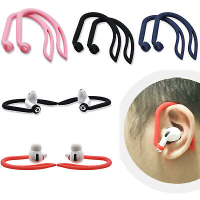 $ CDN4.47 • Buy Silicone Sports Anti-Lost Ear Hook Loop Clips For Apple AirPods 1 2 Pro Earphone