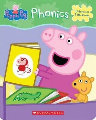 Peppa Pig Phonics Set, Paperback By Scholastic Inc. (COR), Brand New, Free P&... • 12.64£