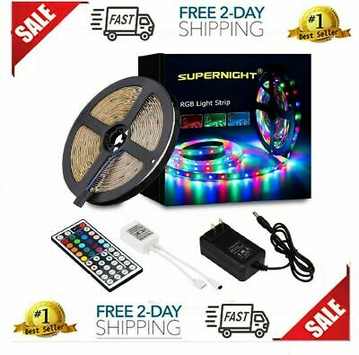 Led String Strip Lights Color Changing Lamps Indoor Room Home Good For Party • 21$