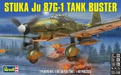 $19.99 • Buy 1/48 Revell 5570  - German WWII Stuka Ju 87G-1 Tank Buster Plastic Model Kit