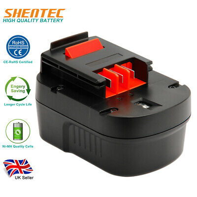 12V 3.0AH Ni-MH Battery For Black Decker A12 A12-XJ A1712 FS120B FSB12 HPB12 • 18.92£