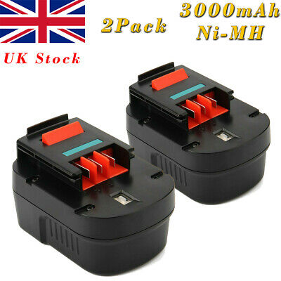 2X 3000mAh 12V Ni-MH Battery For Black Decker A12 A1712 A12EX Firestorm FS120B • 35.89£