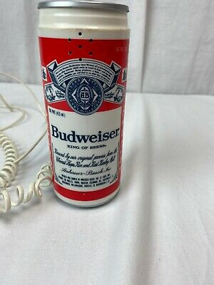 $ CDN20.93 • Buy Vintage Budweiser Bud Beer Can Push Button Telephone