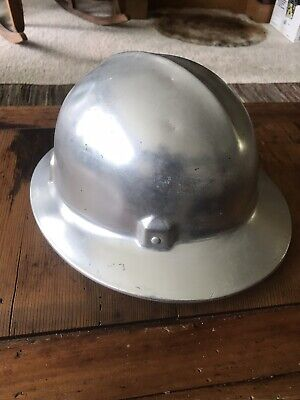 Vintage Jackson Aluminum Safety Helmet Hardhat  Adjustable • 14.95$