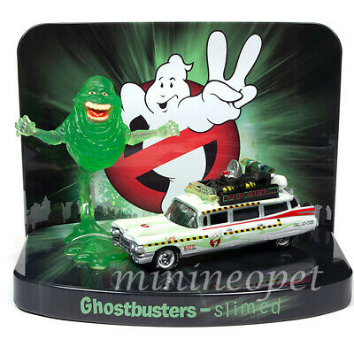 JOHNNY LIGHTNING JLSP078 GHOSTBUSTERS 1959 CADILLAC ECTO-1A 1/64 W SLIMER FIGURE • 9.04£