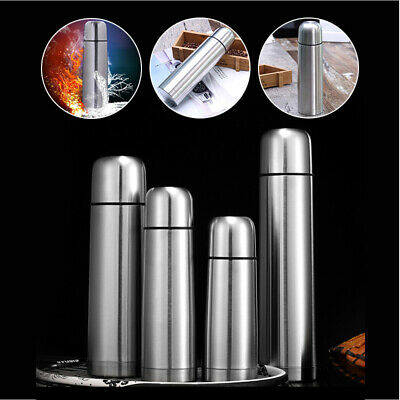 AU15.99 • Buy Stainless Steel Thermos Bottle Insulated BPA Free Drink Cup Top F/ Hot Cold Tea