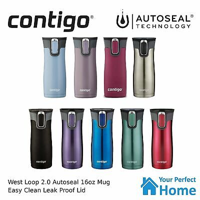 AU31.95 • Buy Contigo Thermos West Loop Version 2.0 473ml Insulated Travel Coffee Mug