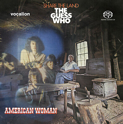 The Guess Who - American Woman & Share The Land  [SACD Hybrid Multi-channel]  • 13.99£
