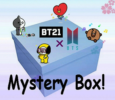 $19.99 • Buy BTS BT21 Love Yourself/Persona Random Box / Sticker, Pillow, Plush, Album Poster