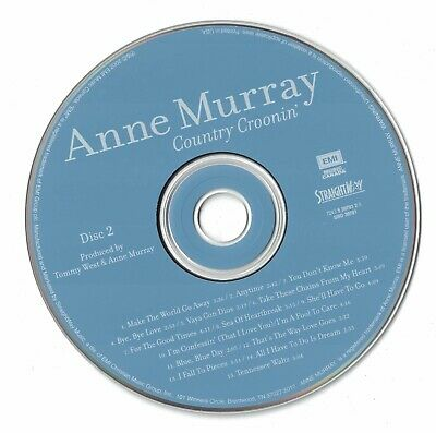 Anne Murray Country Groonin' Disc 2 2002 CD Professionally Cleaned • 1.80$