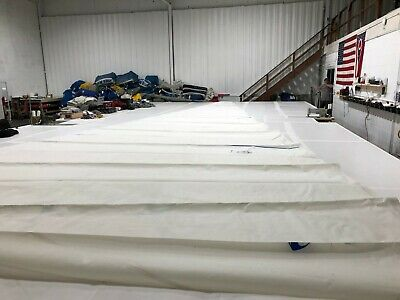 $1600 • Buy Roller Furling Genoa -USED - Luff 54.7' Leech 53.4' Foot 20.7' W/White UV