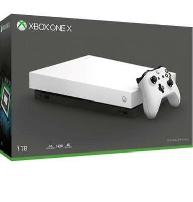 Xbox One X White Special Edition Fmp 00063 • 599.10$