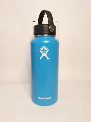 Hydro Flask Wide Mouth Stainless Steel Bottle With Flex Cap Blue 32oz • 34.95$