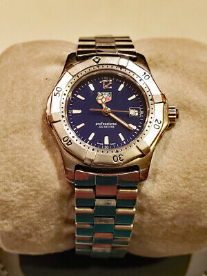TAG HEUER Professional WK1313 BLUE Women's Watch • 275$