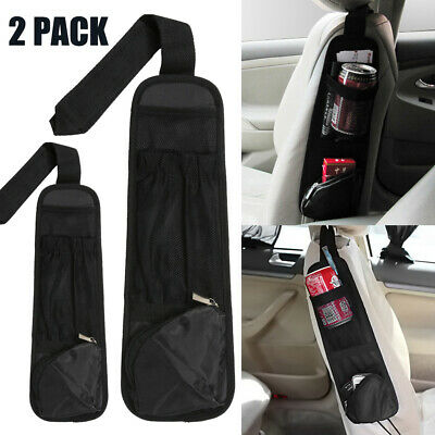 $6.56 • Buy 2x Car Seat Side Storage Organizer Portable Interior Multi-Use Bag Accessory NEW