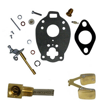 $ CDN32.88 • Buy Tractor Carburetor Kit With Float & Fuel Screen For Ford New Holland 2N 8N 9N