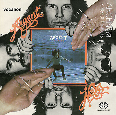 Argent • IN DEEP [SACD Multi-channel] & NEXUS & RING OF HANDS [SACD Stereo Only] • 21.99£