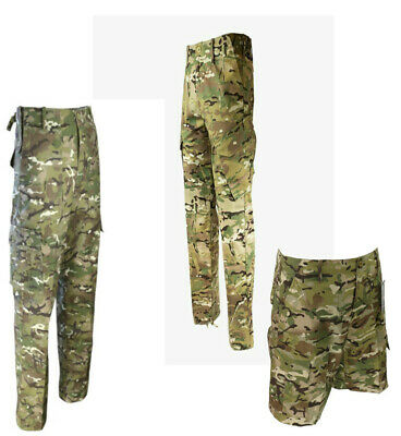 £19.85 • Buy Genuine British Army Mtp & Btp Trousers Shorts Multicam Combat Camouflage Camo