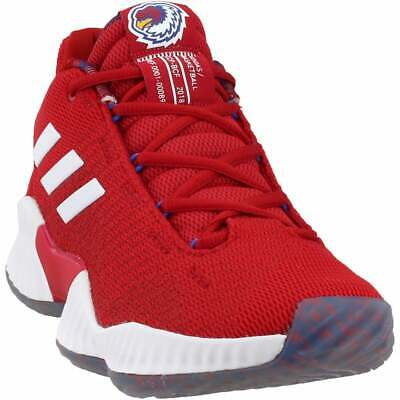 $ CDN95.20 • Buy Adidas SM Pro Bounce 2018 Low HS Elite  Casual Basketball  Shoes Red Mens - Size