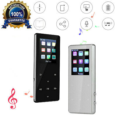 $23.75 • Buy Portable Bluetooth MP3 Music Player With FM Hi-Fi Lossless Support Up To 128GB