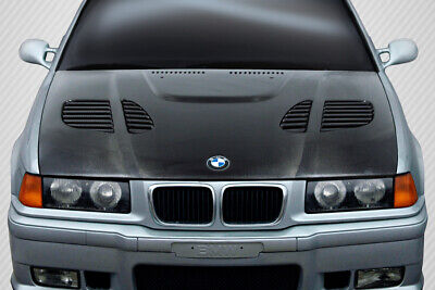 $1060 • Buy Carbon Creations GTR Hood Body Kit For 92-98 BMW 3 Series E36 4DR